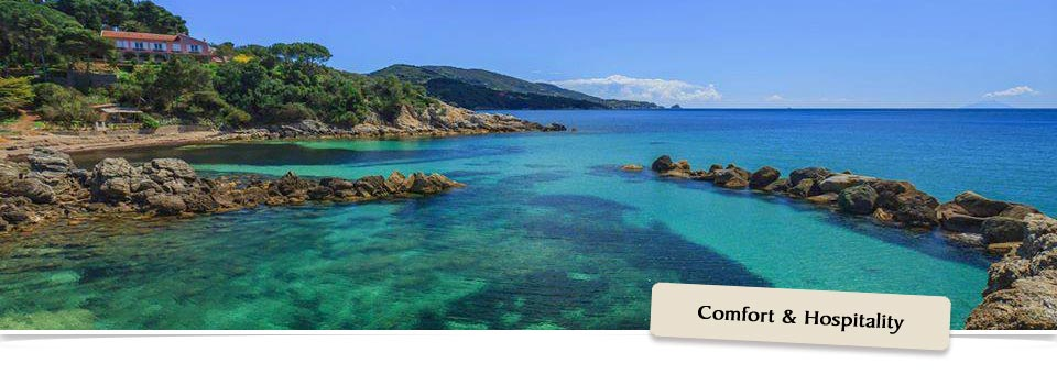 Island of Elba - beach of Felciaio