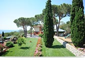 Villa Capitorsola: the garden - Island of Elba