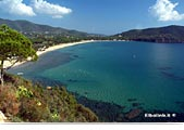Island of Elba: beach of Lacona