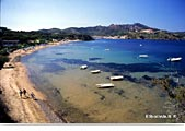 Island of Elba: beach of Naregno